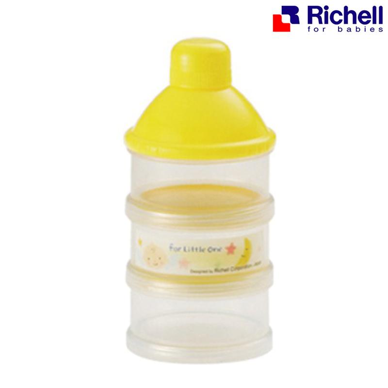 ที่แบ่งนมผง 3 ชั้น Richell Formula Container