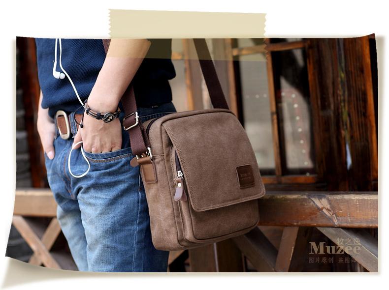 กระเป๋าสะพายไหล่ Muzee No.4 Coffee
