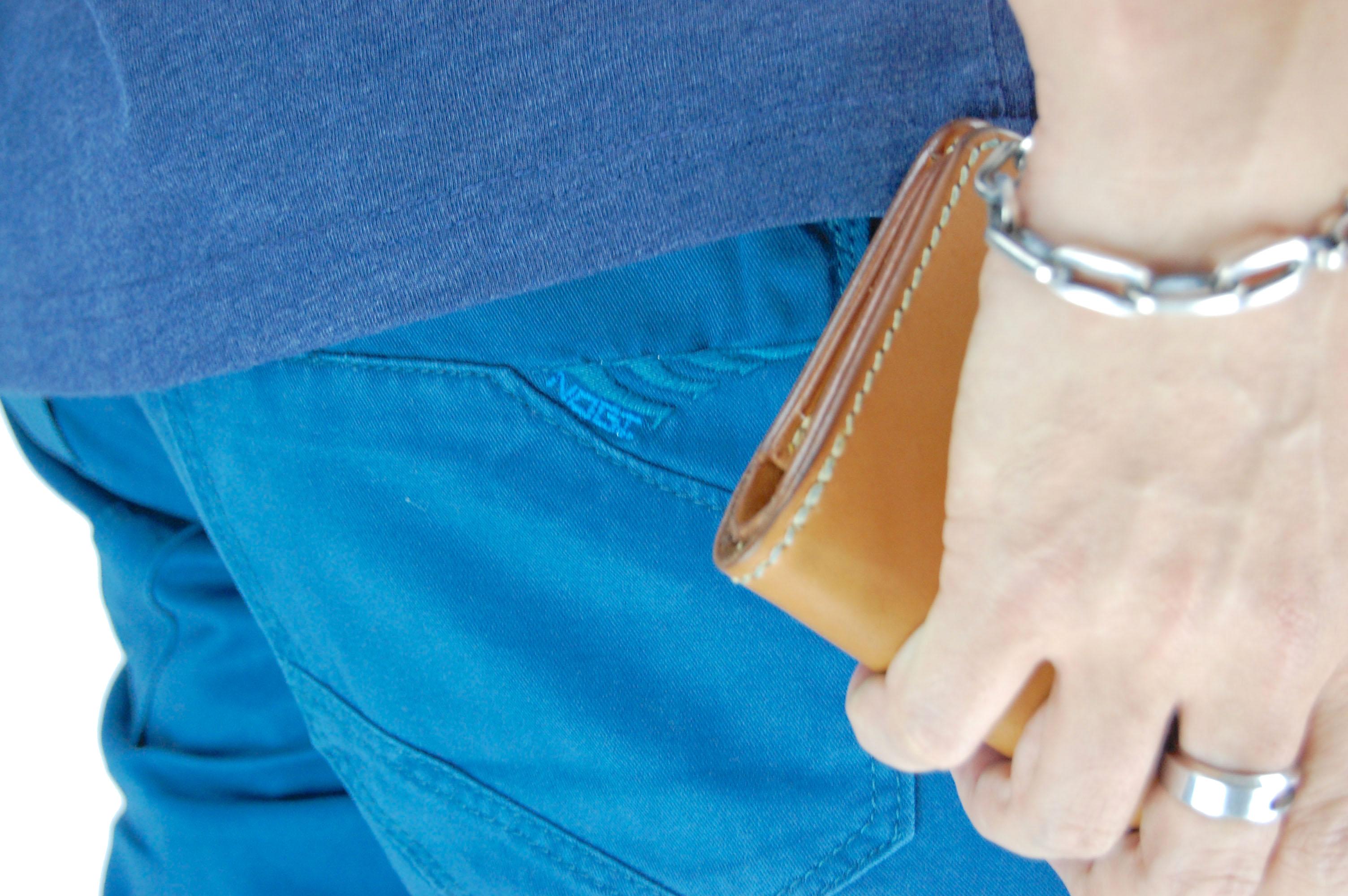 กางเกงขาสั้น สีฟ้าเข้ม NT28-3--7