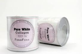 Pure white Collagen 100% By Fonn Fonn คอลลาเจนสด ฝนฝน