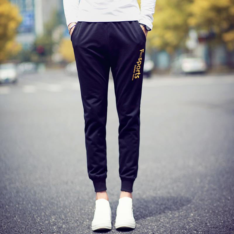 Pre Order กางเกงวอร์มเกาหลี ดีไซน์เท่ห์ ขาจั้ม สกรีนลาย F Sports มี3สี