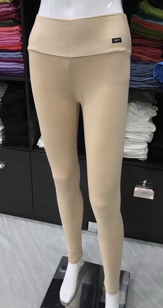 เลคกิ้ง กางเกงขายาว สีเนื้อ