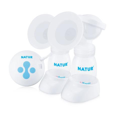 NATUR Electric double breast pump เครื่องปั๊มนมไฟฟ้าแบบคู่