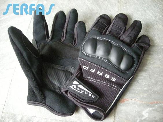 ถุงมือเต็มนิ้ว Serfas
