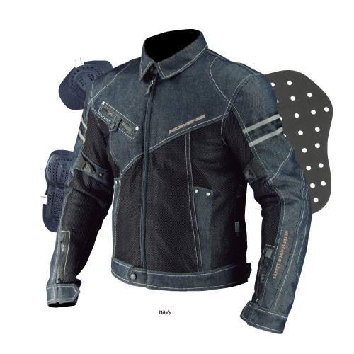 เสื้อการ์ด Komine JK-006 (ผู้หญิง) #สียีนส์ดำ/สียีนส์น้ำเงิน