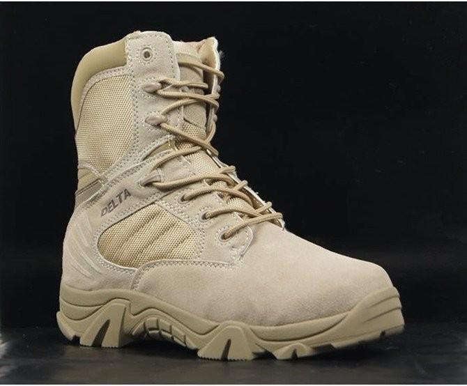 รองเท้าข้อยาว Delta (ดำ ทราย)