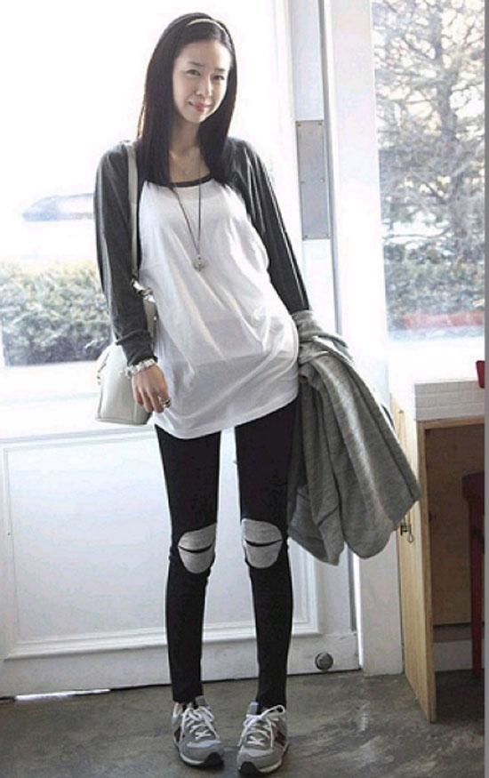 ++เสื้อผ้าไซส์ใหญ่++* Pre-Order*กางเกงสกินนี่ไซส์ใหญ่ กางเกงคนอ้วน แต่ง ช่วงหัวเข่า น่ารักมากค่ะ