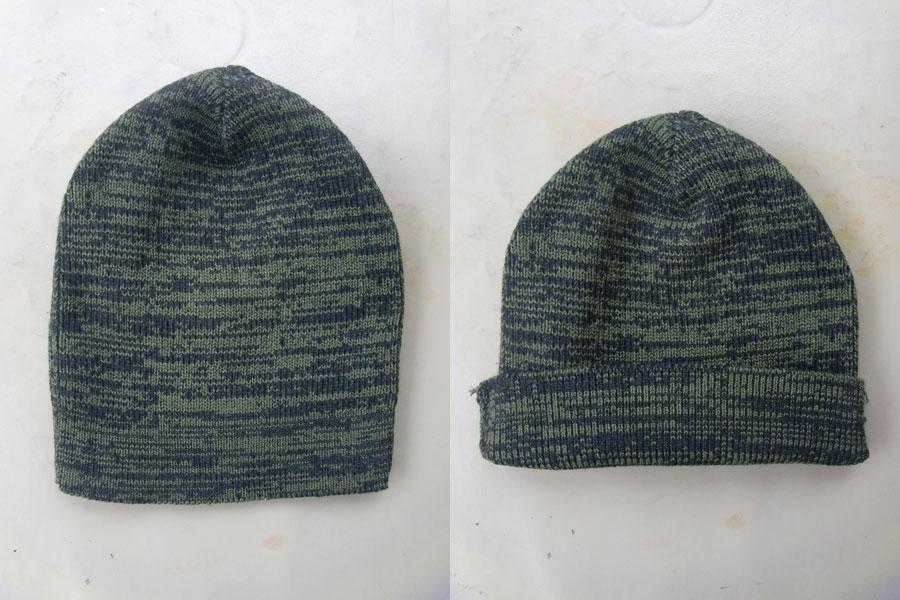 หมวกไหมพรม ครึ่งหัว