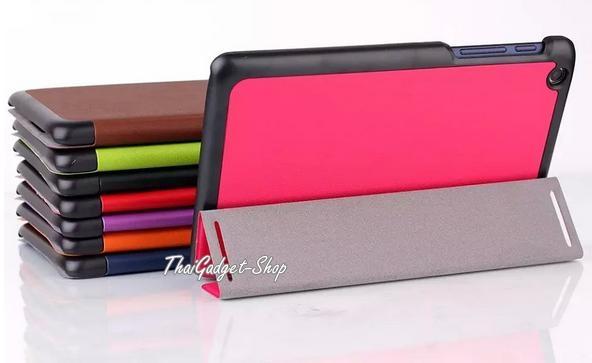 (พร้อมส่ง) เคส Lenovo Tab2 A8 Ultra-thin Slim Smart 3-folding Stand Cover ตรงรุ่น