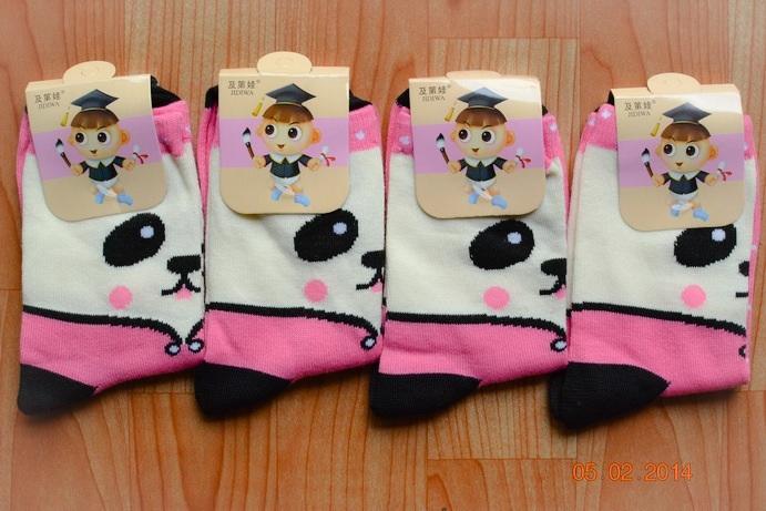 S153**พร้อมส่ง** (ปลีก+ส่ง) ถุงเท้าแฟชั่นเกาหลี ข้อยาว เนื้อดี งานนำเข้า(Made in China)