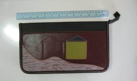 กระเป๋าซีดีลายบ้าน ใหญ่ รหัส 0386