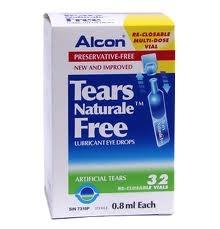 น้ำตาเทียมปราศจากสารกันบูด Tear Naturale Free เป็นสูตรพิเศษ จึงไม่ทำให้เกิดอาการระคายเคืองตา เหมาะสำหรับ - ผู้ที่มีอาการแพ้ง่าย - ผู้ที่เพิ่งผ่านการผ่าตัดตา ไม่ว่า ทำเลสิค หรือ ผ่าตาอื่นๆ -ผู้ที่ใช้ contact lens