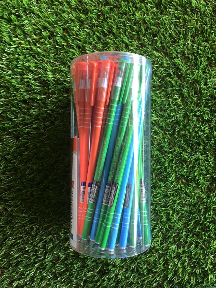 ปากกา quantum skate111 extra รุ่นยาวพิเศษ (ขายส่ง 140 บาท/กระป๋อง 50 ด้าม)