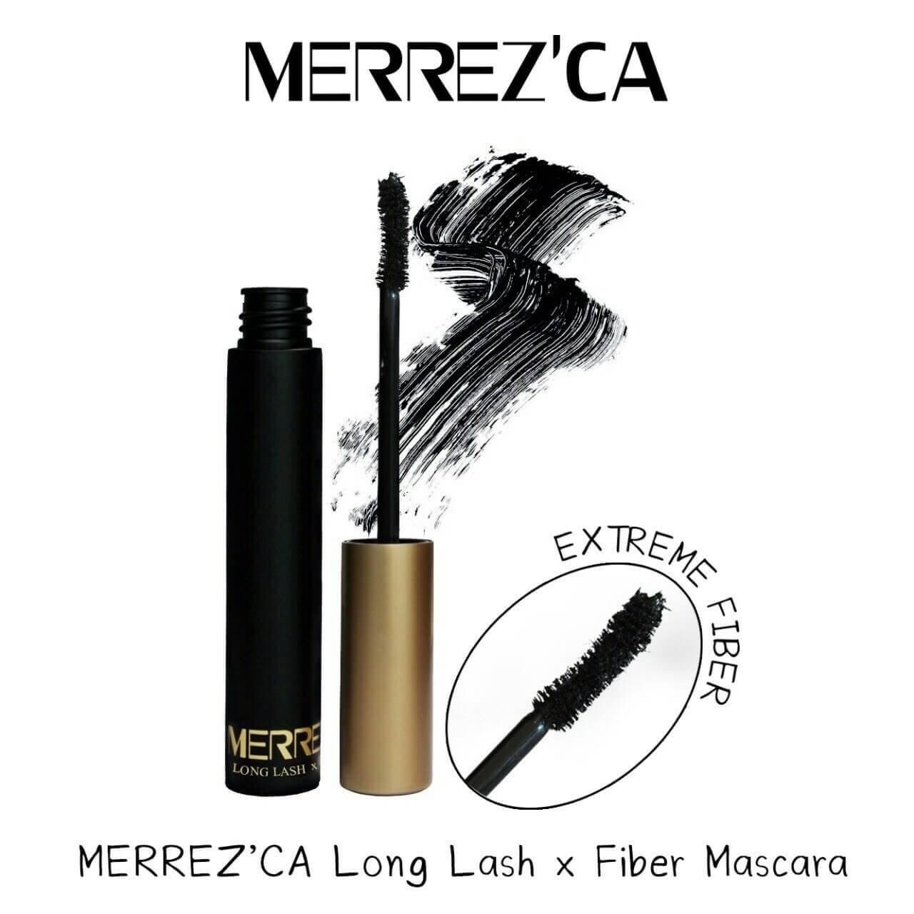 Merrez'CA Long Lash Fiber Mascara