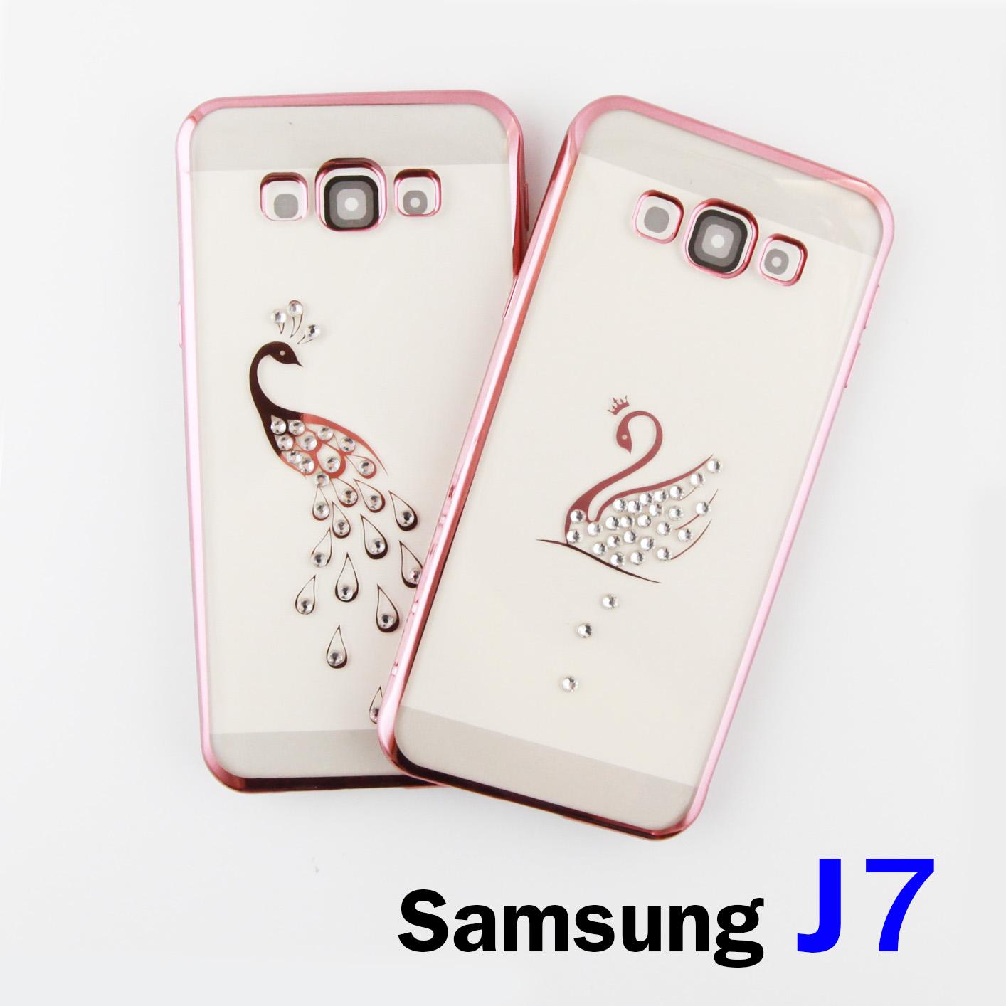 เคส ซิลิโคนใส Samsung J7 CADENZ ลาย ลดเหลือ 50 บาท ปกติ 300 บาท