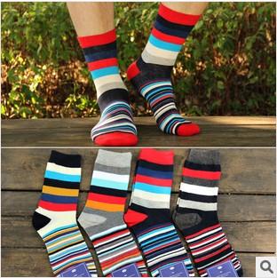 ถุงเท้าเกาหลี Horizontal Motif#2