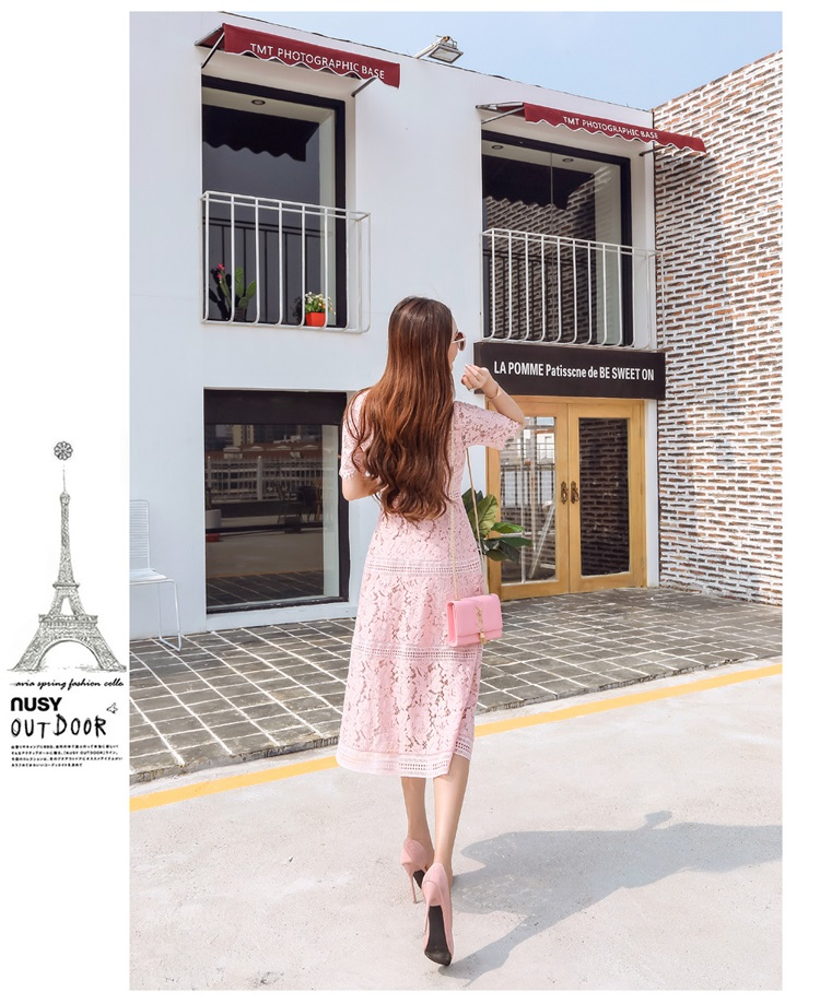 ชุดเดรสยาวเกาหลี