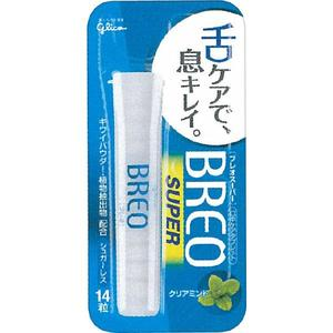 ได้รับการโหวตให้เป็น Best Cosme From Japan ลงนิตยสาร Ray Glico Breo Super กลิ่น Clear Mint ลูกอมช่วยลดคราบขาวบนลิ้น และเศษอาหารที่เกาะหมักหมมในปากใครอยู่ใกล้ก็หอมเพิ่มเสน่ห์ให้คนอยู่ใกล้ๆได้หลงใหลค่ะ