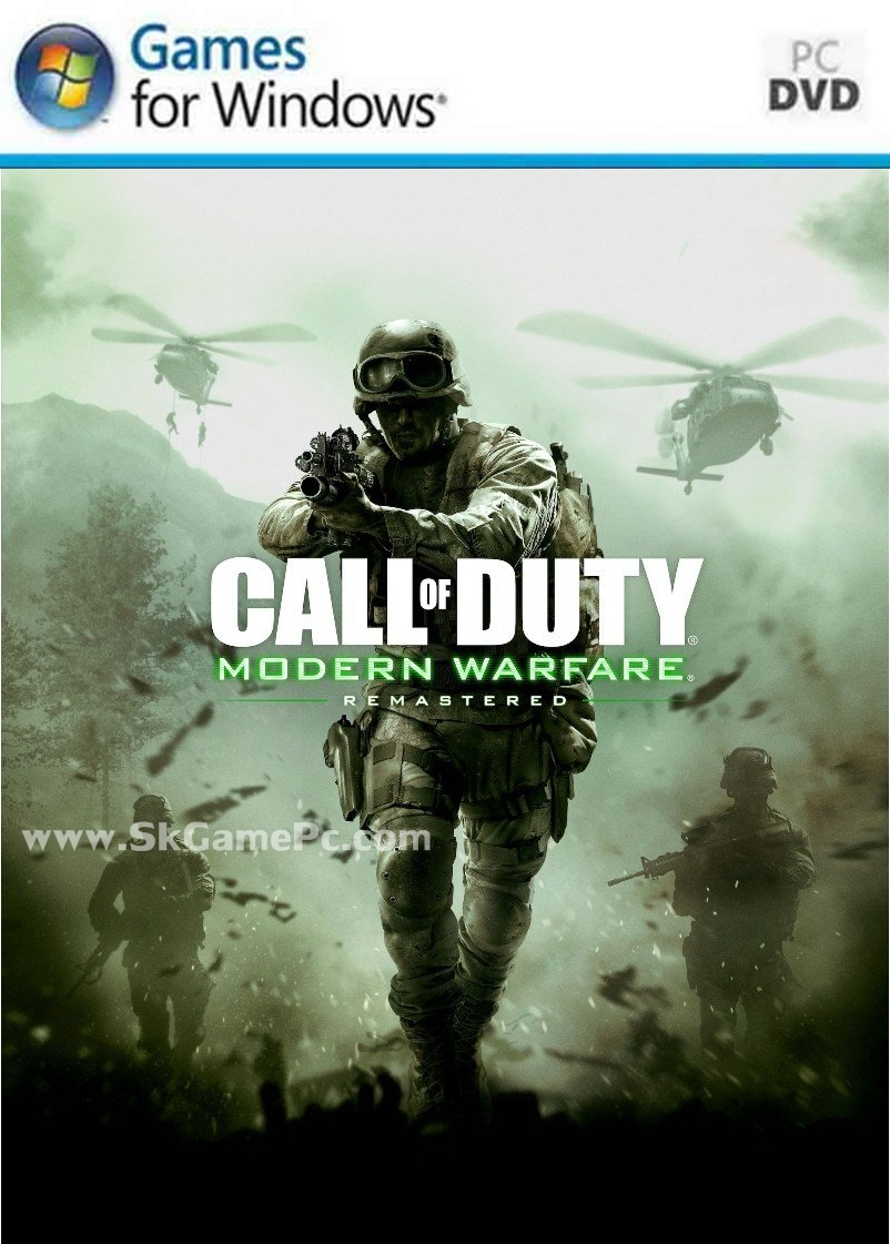 Call of Duty Modern Warfare Remastered ( 9 DVD )