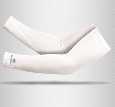 ปลอกแขนกัน UV size S : Ultra White color