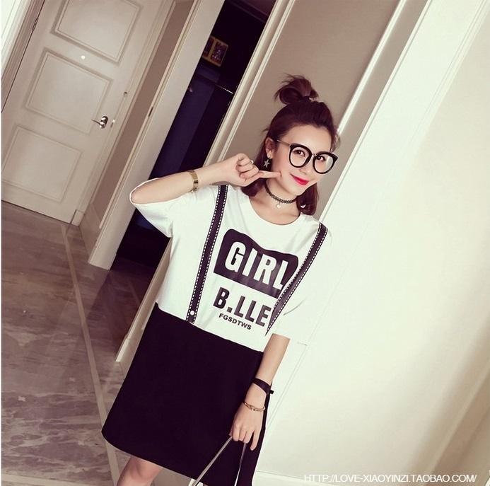 เสื้อคลุมท้อง คอกลม กรีนลายเอี้ยม GIRL B.LLE น่ารักมากๆค่ะ