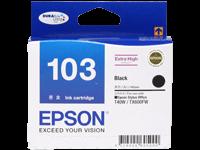 Epson T103190 (103) ตลับหมึกอิงค์เจ็ท สีดำ Black Original Ink