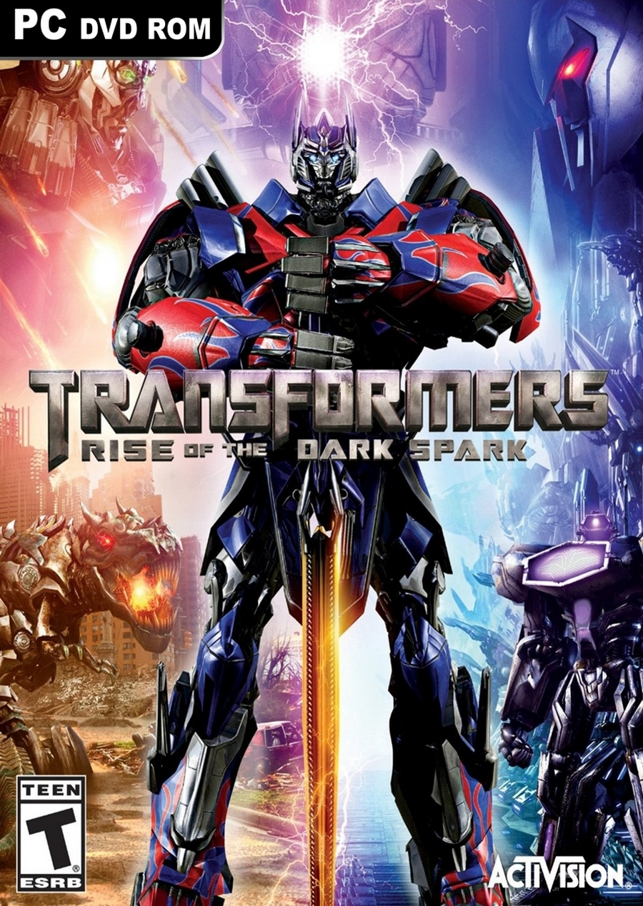 Transformers Rise of the Dark Spark ( 3 DVD )