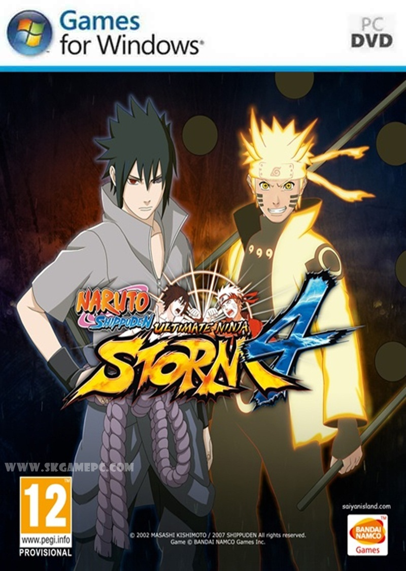 Naruto Shippuden Ultimate Ninja Storm 4 ( 8 DVD )