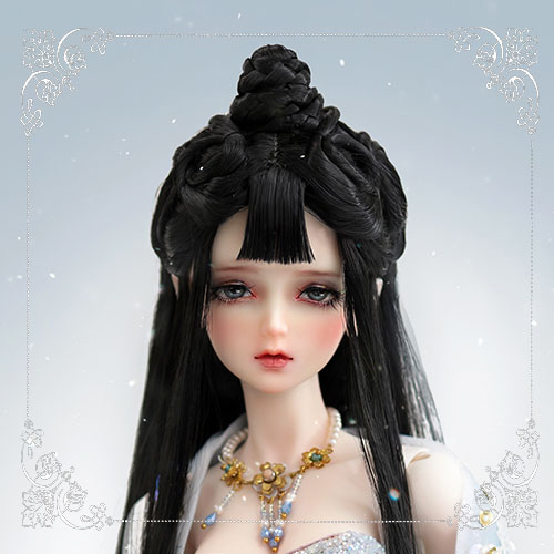 1/3 Youth Great Snow Black Ancient Wig