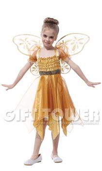 ชุดเด็กแฟนซีนางฟ้าสีทอง Elegant Angel ขนาด XL