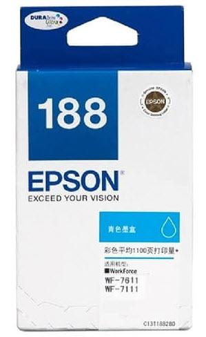 Epson T188290 (188) หมึกพิมพ์อิงค์เจ็ต สีฟ้า Cyan Original Ink