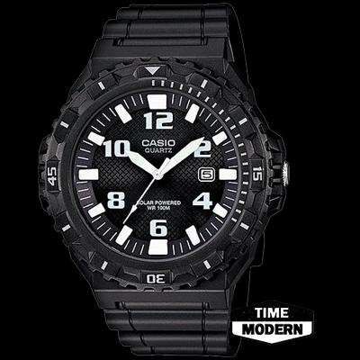 นาฬิกา Casio Standard Solar-Powered Analog รุ่น MRW-S300H-1BVDF