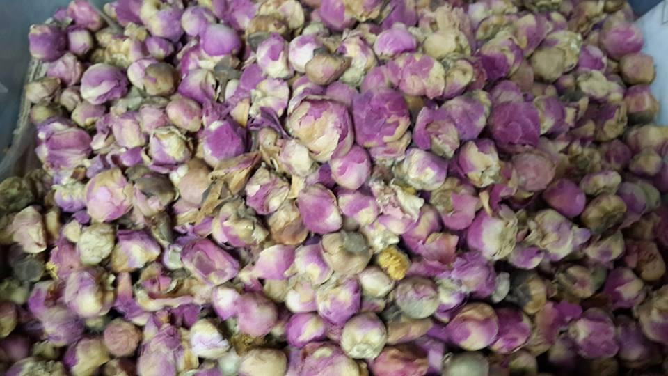 ชาดอกกุหลาบ น้ำหนัก 100 กรัม