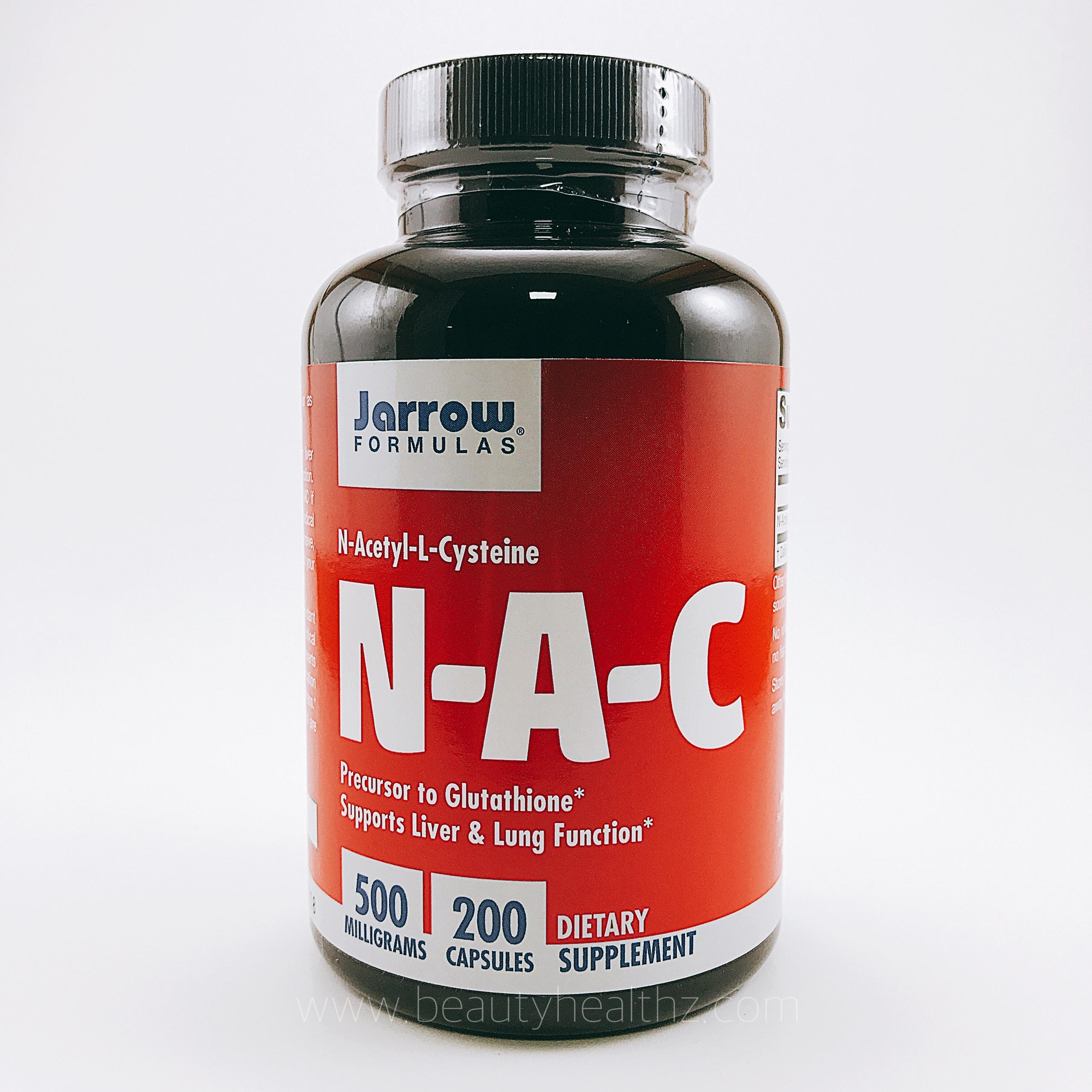 Jarrow Formulas, N-Acetyl-L-Cysteine, 500 mg, 200 Capsules