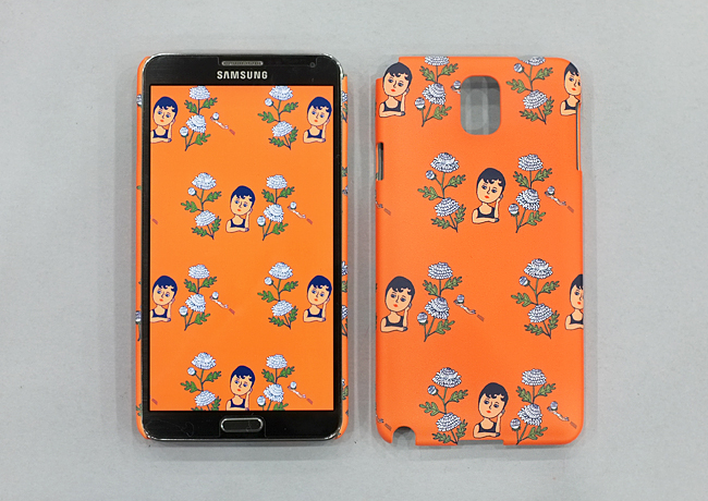 AURORE ORANGE SNAP CASE FOR GALAXY NOTE 3