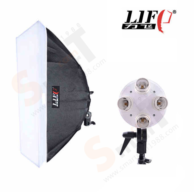 LIFT 4 E27 Holder Bulb with Softbox 50x70cm