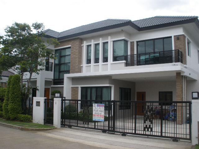 H537 บ้านเดี่ยว 86.3 ตร.วา ม.แกรนด์ บางกอก บูเลอวาร์ด ราชพฤกษ์-รัตนาธิเบศร์ ตกแต่งสวย สภาพบ้านใหม่ พร้อมอยู่