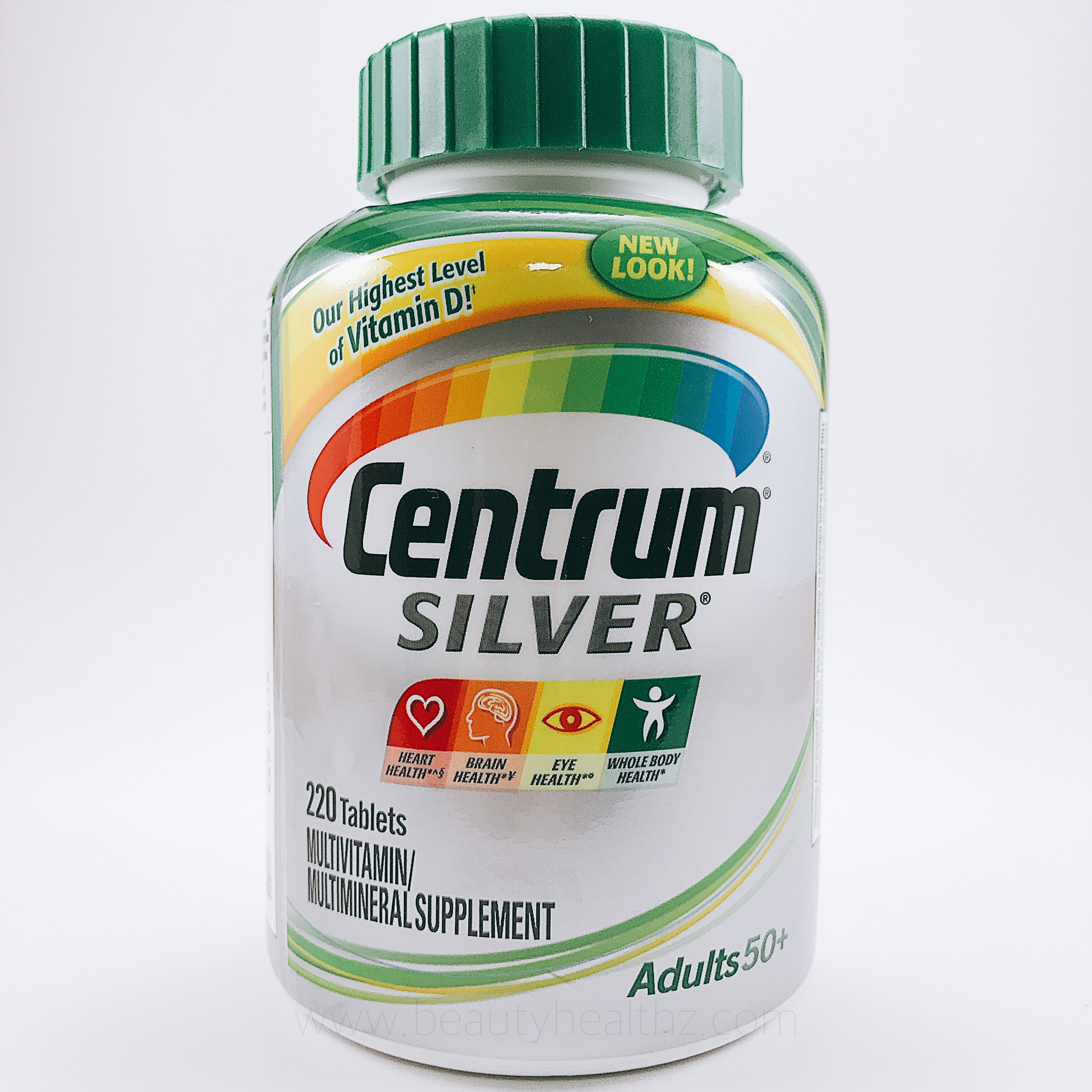 Centrum Silver® Multivitamin-Multimineral Adults 50 Plus -- 220 Tablets