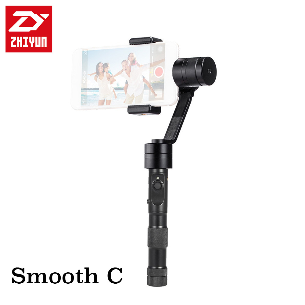 Zhiyun Z1-Smooth-C+ 3-axis Handheld Smartphone Brushless Stabilizer Gimbal for iPhone 5/ 5s/ 6 /6 Plus, Galaxy Note