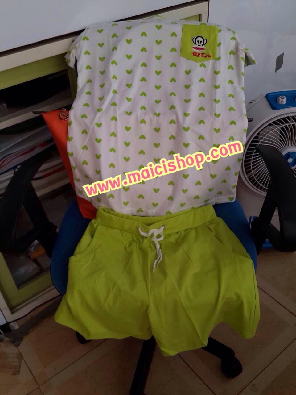 รีวิวสินค้าร้านเรา maicishop.com คะ ชุดนอนน่ารัก ลิง Paul Frank กางเกงสกินนี่ เลคกิ้ง สวย