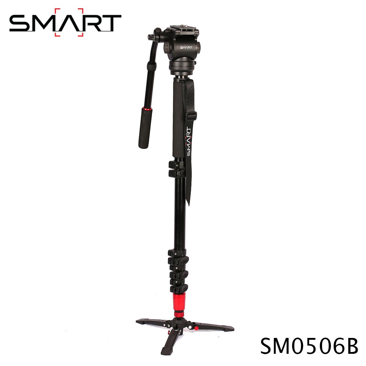 SMART Monopod SM0506B Aluminum Alloy Professional Monopod For Video & Camera
