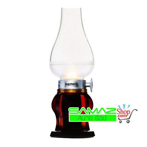 ราคาพิเศษ!! ตะเกียงไฟฟ้า โคมไฟ Remax Blowing Control LED ปรับความแรงของแสงได้ sensor เปิดปิด ด้วยการเป่า ระบบชาร์จไฟ พกพาสะดวก ใช้ได้ทุกที่ สวยงามแบบ Retro ร่วมสมัย