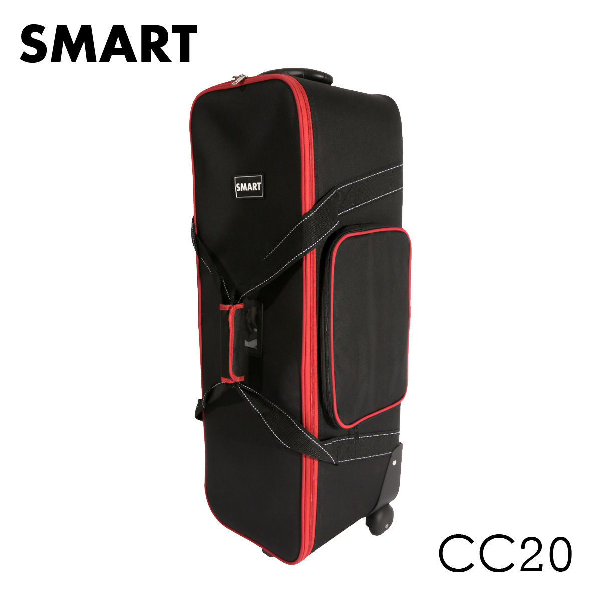 SMART CC20 Hard trolley bag for x3 mini studio flash