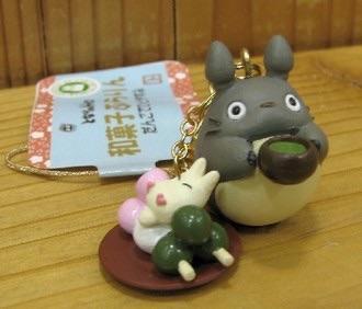พวงกุญแจ My Neighbor Totoro กับดังโงะ