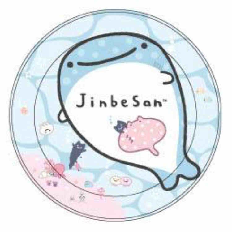 จานเมลามีน Jinbei-san ใต้ทะเล