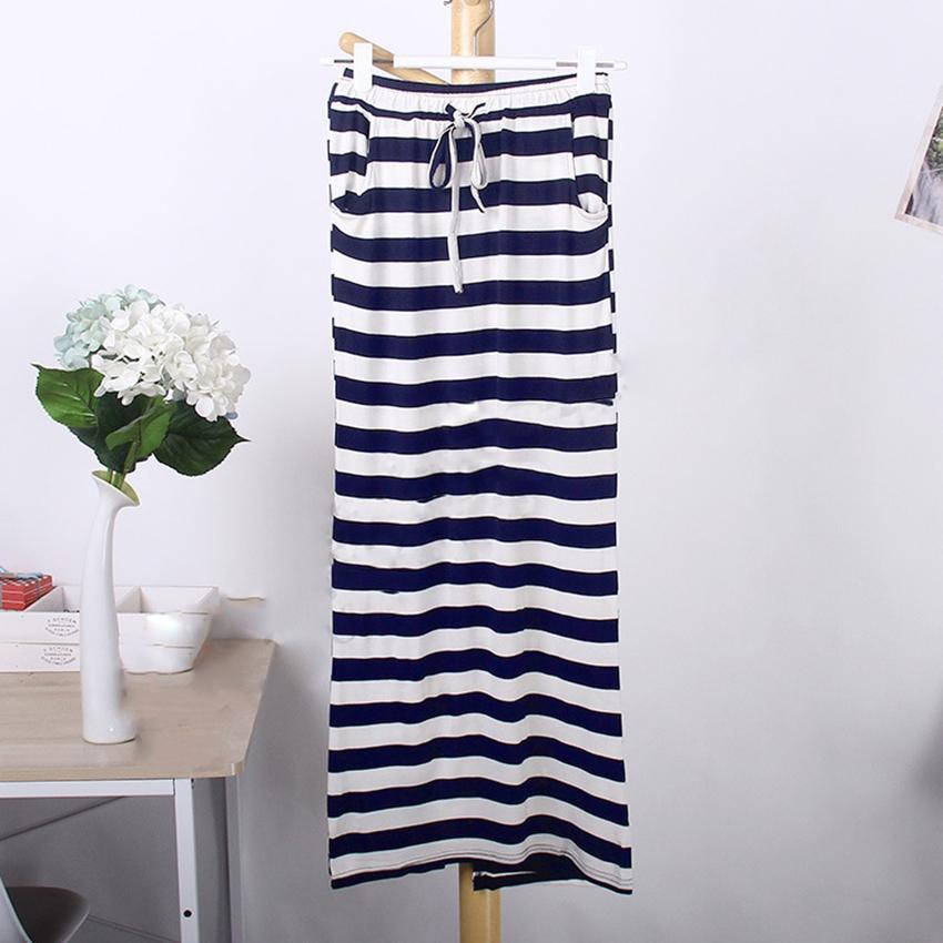 กระโปรงยาว Basic Striped